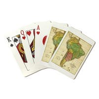 South America - (1826) - Panoramic Map (Poker Playing Cards Deck)