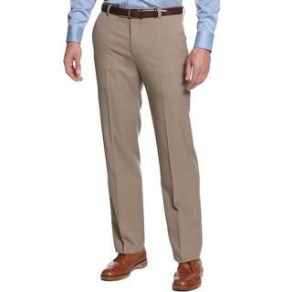 Kenneth Cole Reaction Mens Dress Pants Shadow Stripe Vertical Texture