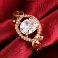 Rose Gold Downtown Abby Inspired Ring - Thumbnail 2