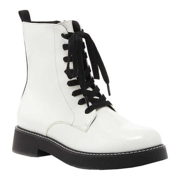 Shop Rocket Dog Women s Jelina Combat Boot White Synthetic - Free ... 464cee01f3a6