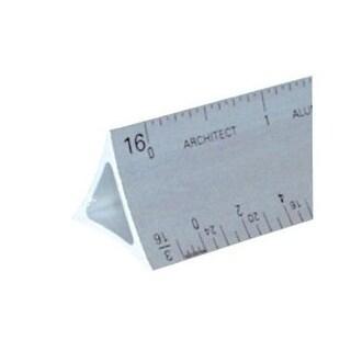 3000 Series 12 Silver Hollow Aluminum Triangular