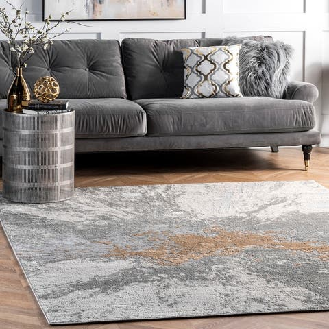 nuLOOM Scatter Janie Contemporary Modern Abstract Area Rug