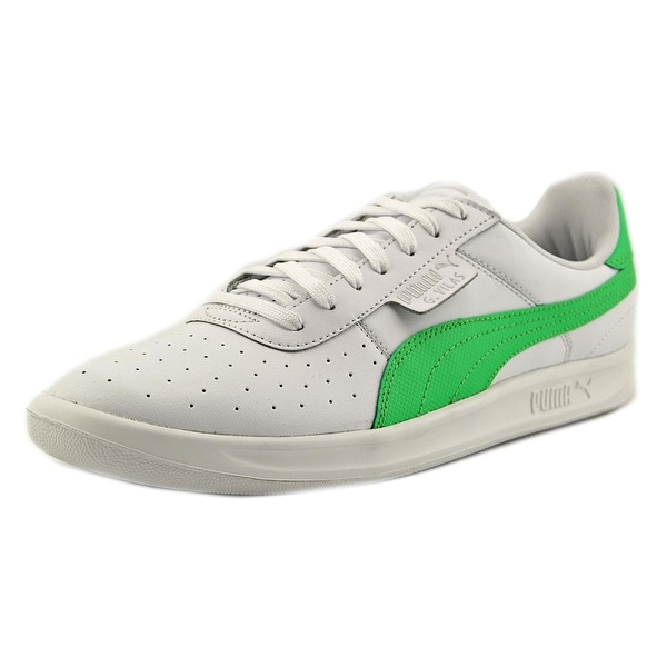 Puma G. Vilas 2 Men Round Toe Leather Green Sneakers