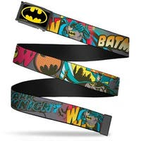Batman Fcg Black Yellow Bo Black Batman Dark Knight Webbing Web Belt