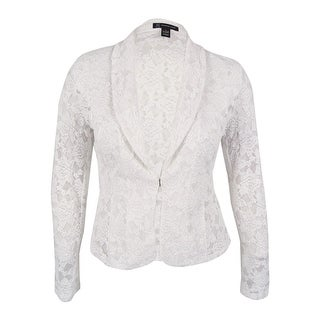 INC International Concepts Women's Lace Blazer