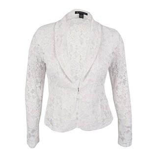 INC International Concepts Women's Lace Blazer