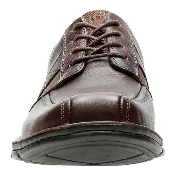 Mens Clarks /'Cotrell Rise/' s Oily Leather Lace Up Ankle Boots 2 Colours