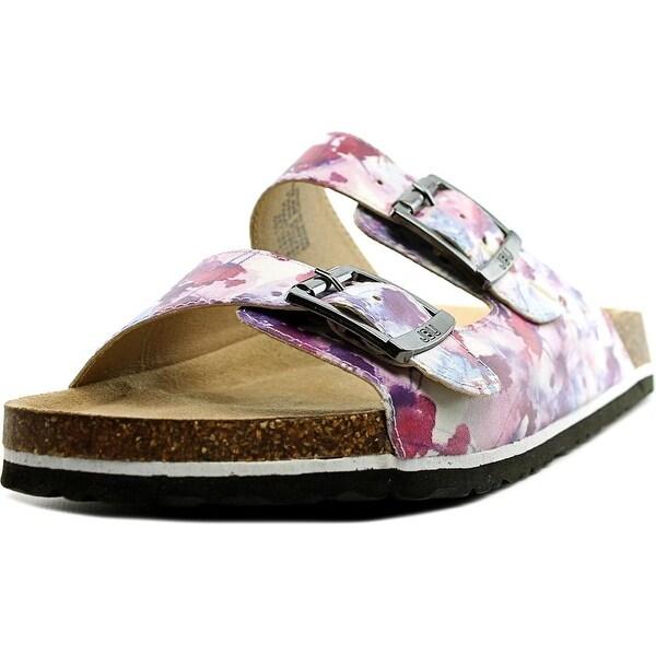 JBU by Jambu Ellen Too Women Open Toe Synthetic Multi Color Slides Sandal