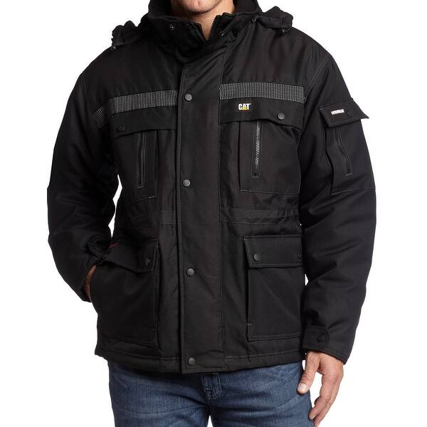 Shop Caterpillar Black Mens Size 4xl Full Zip Durable