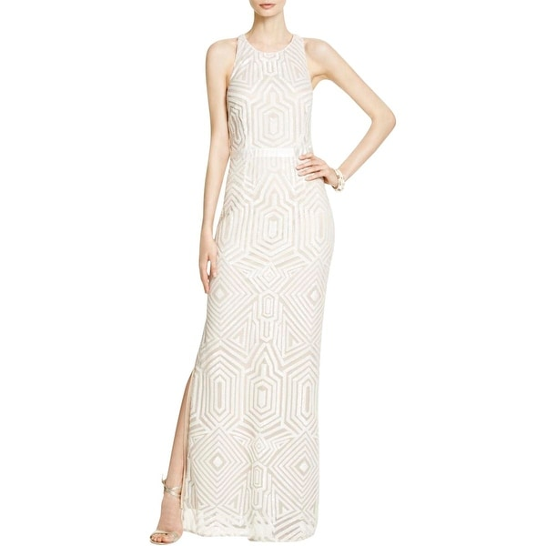 Laundry by Shelli Segal Womens Evening Dress Sequined Mesh