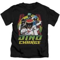 Mighty Morphin Power Rangers Dino Lightning Little Boys Shirt