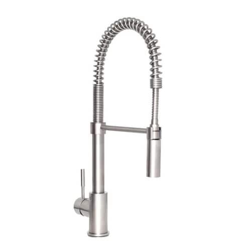 ZLINE Sierra Kitchen Faucet in Brushed Nickel (SRA-KF-BN)