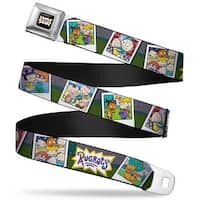 Rugrats Logo Rugrats Character Snapshots Webbing Seatbelt Belt Fashion Belt
