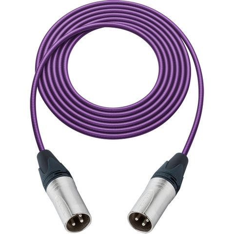Sescom SC1.5XX Audio Cable Canare Star-Quad 3-Pin XLR Male to 3-Pin XLR Male
