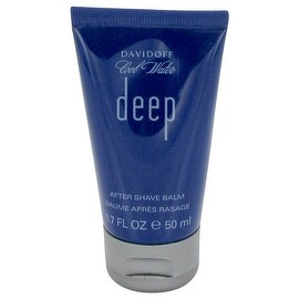 Cool Water Deep by Davidoff After Shave Balm 1.7 oz - Men
