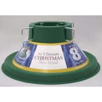 Green Ultimate Christmas Tree Stand For 8 Foot Real Live Trees