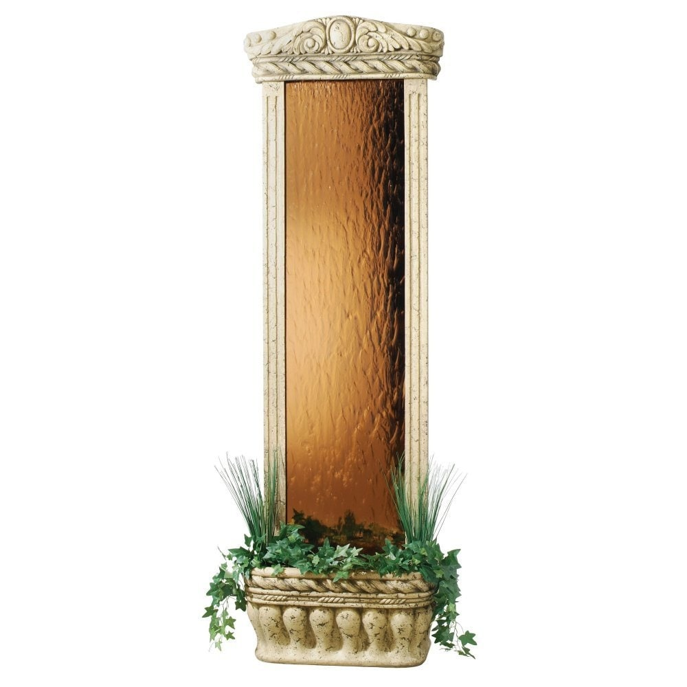 "Watergarden Fountain with Bronze Mirror, 72""H X 23""W X 11""D - Thumbnail 0"