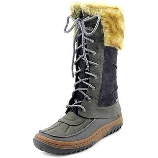 Merrell Decora Prelude Women Round Toe Leather Snow Boot