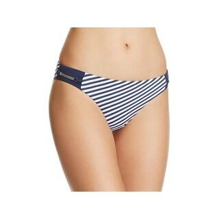 Heidi Klum Swim Womens Sun Dappled Decadence Striped Swim Bottom Separates