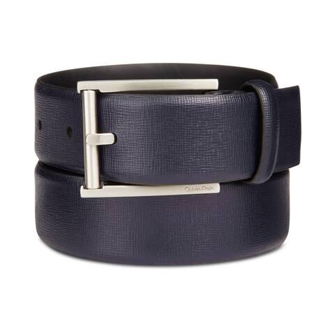 Calvin Klein Mens Feather Edge Belt - 42