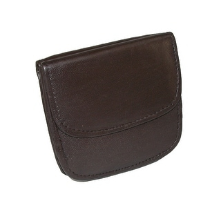 CTM® Men's Leather Front Pocket Snap Wallet - One Size