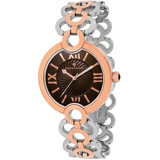 Link to Christian Van Sant Women's Twirl Brown Dial Watch - CV2816 Similar Items in Women's Watches