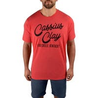 Title Boxing Ali I Am The Greatest Premium Fitted Legacy T-Shirt - Red