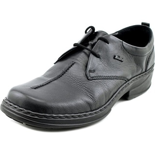 Josef Seibel Trisha Men Round Toe Leather Black Oxford