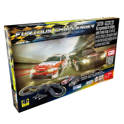 Furious Challenger Road Racing Slot Car Set - Electric Powered