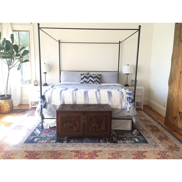 lauren king metal canopy bed free shipping today