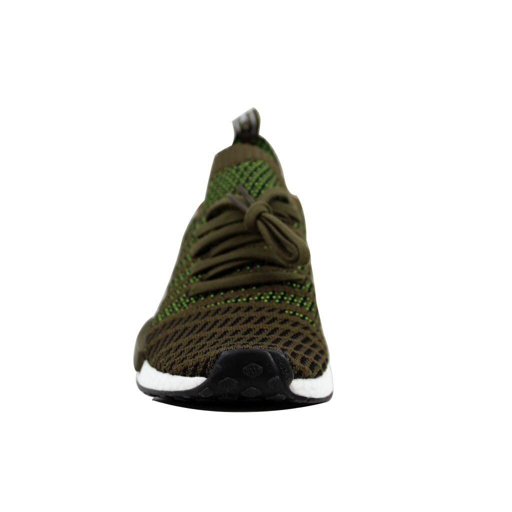 low priced 74a61 2f624 Adidas Men's NMD R1 STLT PK Trace Olive/Black-Solar Slime CQ2389