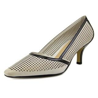 Bella Vita Willa Women W Pointed Toe Leather White Heels