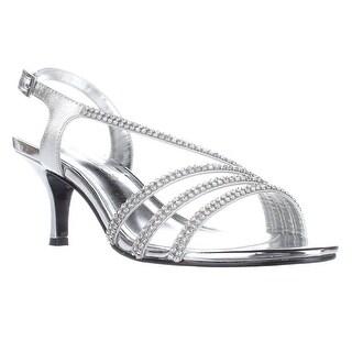 Caparros Bethany Slingback Dress Sandals, Silver