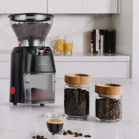 Kitchen Academy Conical Burr Electric Coffee Grinder