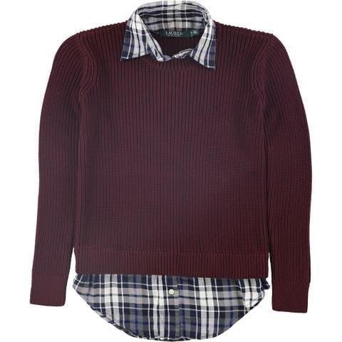 Ralph Lauren Womens Adanna Pullover Sweater, red, XX-Small