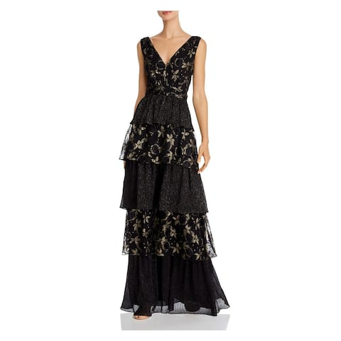 RACHEL ZOE Black Sleeveless Maxi Dress 0
