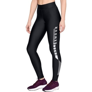 Link to Under Armour Womens Athletic Leggings Fitness Logo - Black - XS Similar Items in Athletic Clothing