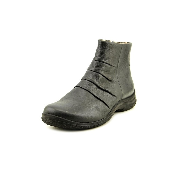 Array Whistler Round Toe Leather Bootie