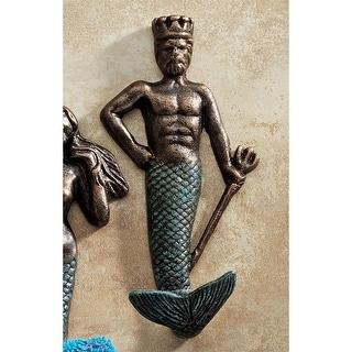 Design Toscano Neptune Foundry Iron Wall Hook