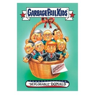 "GPK: Disg-Race To The White House: ""Deplorable"" Donald #66 - multi"