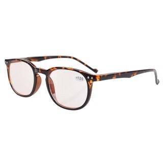 Eyekepper Computer Reading Glasses Anti-reflective,Anti-glare,UV Protection Men Women Tortoise +2.0