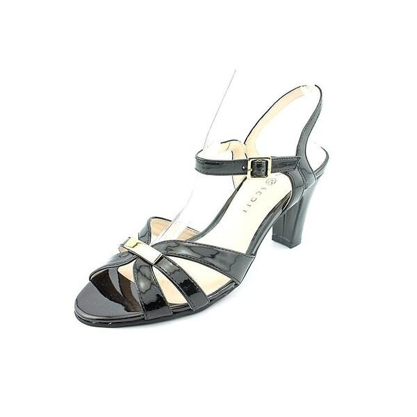 Karen Scott Womens LILAA Open Toe Casual Strappy Sandals
