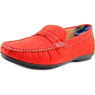 Stacy Adams Park Moc Toe Suede Loafer