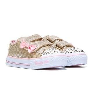 Skechers Girl's Toddler TWINKLE TOES SWEET STEPS Sneaker