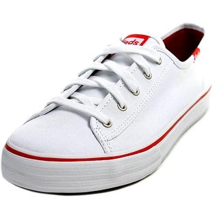 Keds Double Up Round Toe Canvas Sneakers