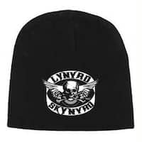 Lynyrd Skynyrd Skull Wing Beanie Hat - Black