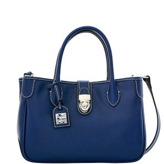 Dooney & Bourke Saffiano Small Double Handle Tote (Introduced by Dooney & Bourke at $248 in Jul 2016) - Marine