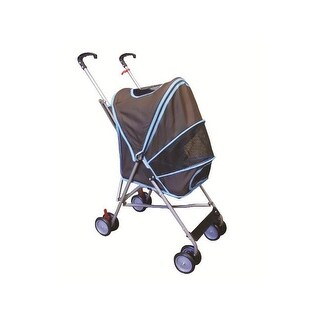 AmorosO 6146 Pet Strollers - Turquoise with Brown