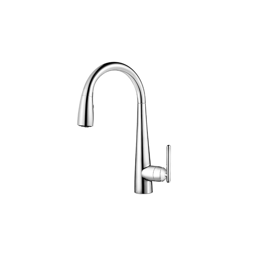 Pfister Gt529 Fl Lita Xtract Pull Down Spray Kitchen Faucet With High Overstock 16323373