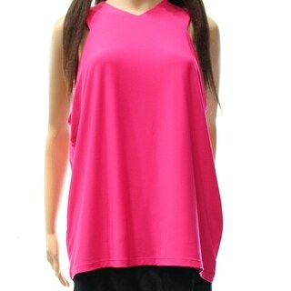Lauren Ralph Lauren NEW Pink Women's Size 2X Plus V-Neck Tank Cami Top